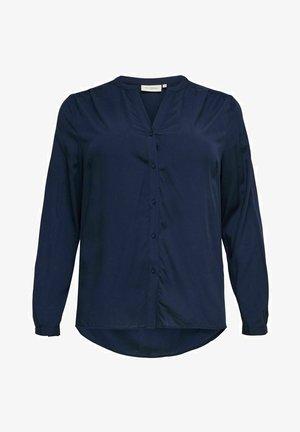 CURVY - Blouse - navy blazer