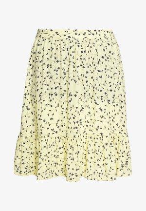 JILLIAN SHORT SKIRT - Mini skirt - banana