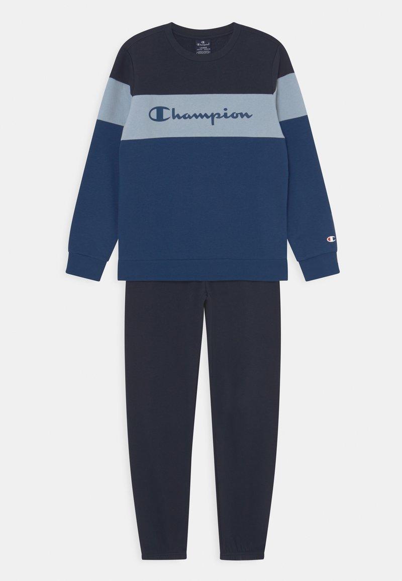 Champion - CREWNECK SET UNISEX - Dres - blue