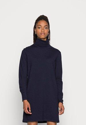HEATHER ROLL NECK DRESS  - Jumper dress - total eclipse