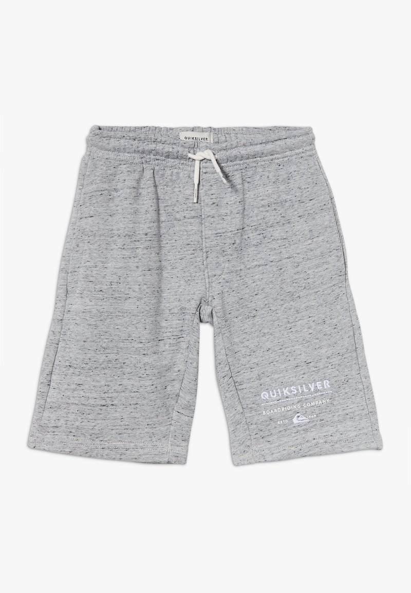 Quiksilver - EASY DAY TRACK  - Tracksuit bottoms - light grey heather