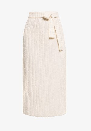 KYLIE SKIRT - Áčková sukně - white swan