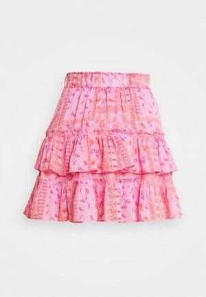 MELISSA MINI SKIRT - Minijupe - true pink