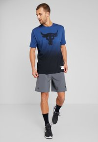 Under Armour - PROJECT TRAINING SHORT - Sports shorts - pitch gray/black - 1