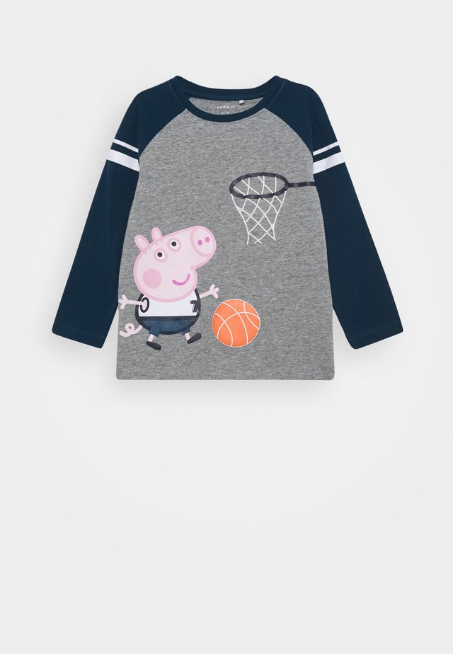 NMMPEPPAPIG PORTO  - Long sleeved top - grey melange