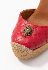 Kurt Geiger London - KARMEN - High heeled sandals - red - 2