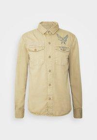 Schott - Koszula - army beige - 4