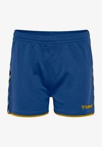 true blue sports yellow