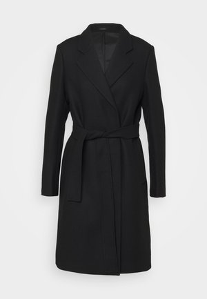 KAYA COAT - Kåpe / frakk - black