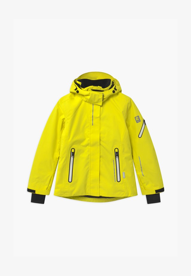 WINTER FROST UNISEX - Snowboardjas - lemon yellow