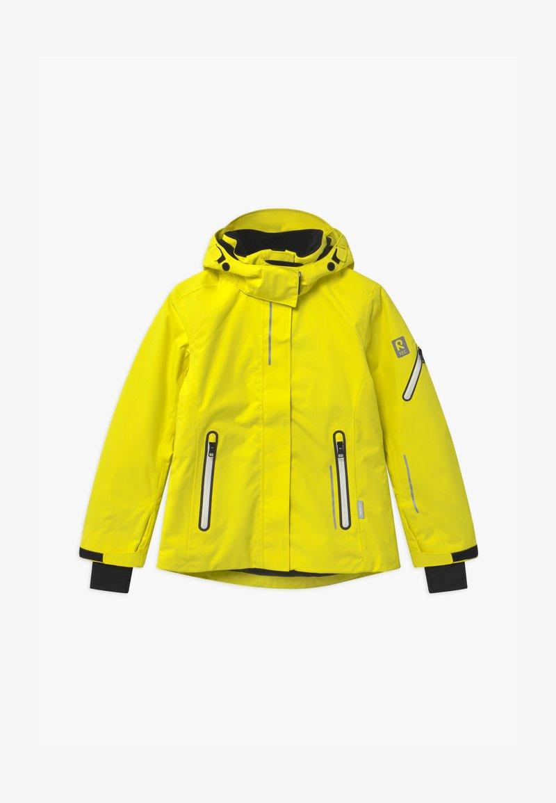 Reima - WINTER FROST UNISEX - Laskettelutakki - lemon yellow