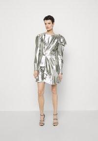 Alberta Ferretti - ABITO - Robe de soirée - silver - 3