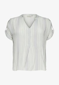 ONLY Carmakoma - LOOSE FIT - Print T-shirt - white - 0