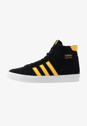 BASKET PROFI - Korkeavartiset tennarit - core black/bold gold/footwear white