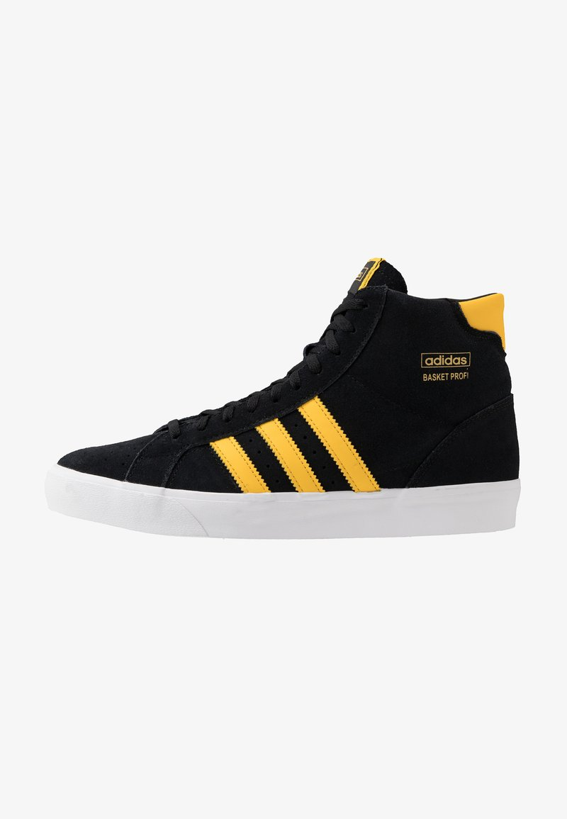 adidas Originals - BASKET PROFI - High-top trainers - core black/bold gold/footwear white