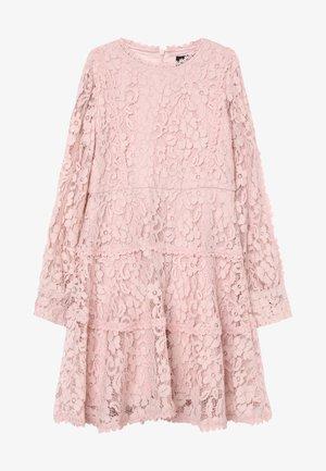 ARIA LACE DRESS - Vestido de cóctel - blush