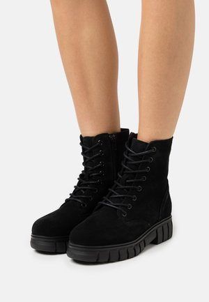 VMEA BOOT - Lace-up ankle boots - black