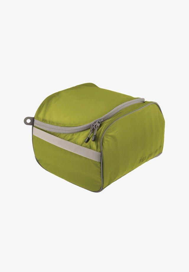 Wash bag - lime / grey