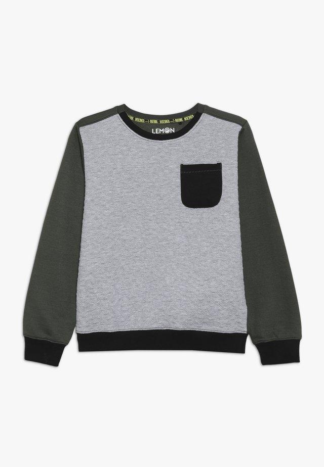 TEEN BOYS - Sweater - dark grey melange
