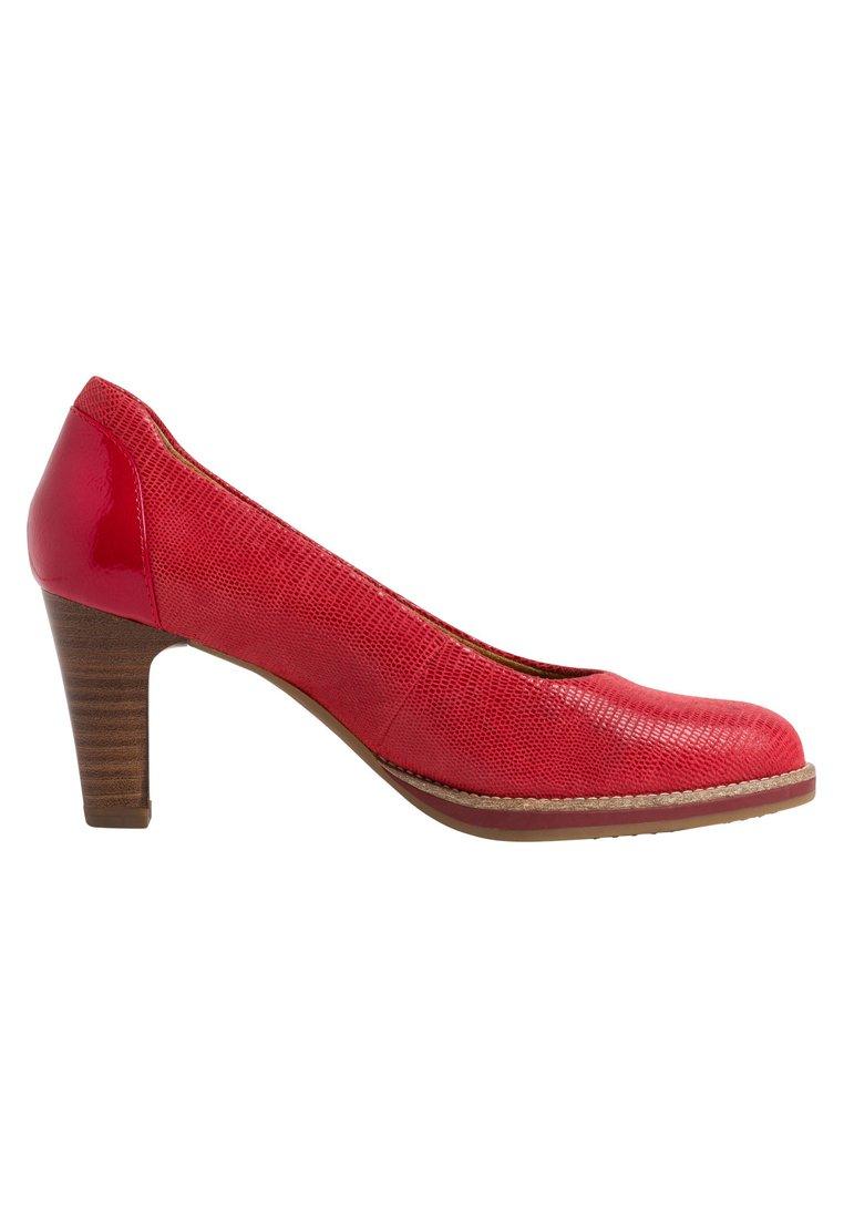 Tamaris Plateaupumps - red  Pumps für Damen GulIz