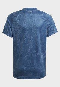 adidas Performance - Camiseta estampada - blue - 3
