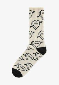 Vans - MN LOVE HATE CREW (9.5-13, 1PK) - Socks - seedpearl - 0
