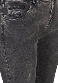 Zizzi - WITH A HIGH WAIST - Slim fit jeans - black - 3