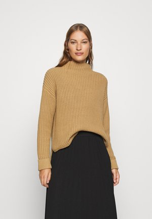 SLFSELMA T NECK  - Jumper - tigers eye