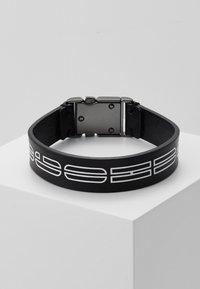 HUGO - LOGO BRACELET - Armbånd - black - 1