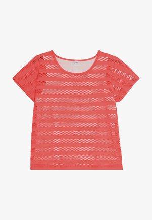 TEENAGER - Print T-shirt - bright coral