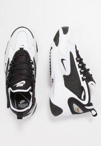 Nike Sportswear - ZOOM 2K - Zapatillas - white/black - 1