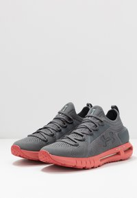 Under Armour - HOVR PHANTOM SE - Neutral running shoes - pitch gray/fractal pink - 2
