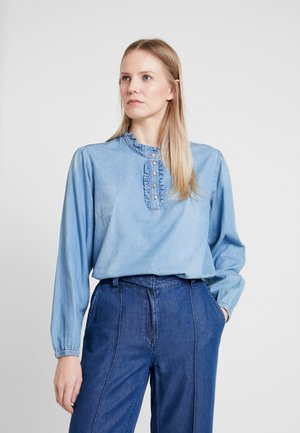 SANDRINE BLOUSE - Pusero - blue denim