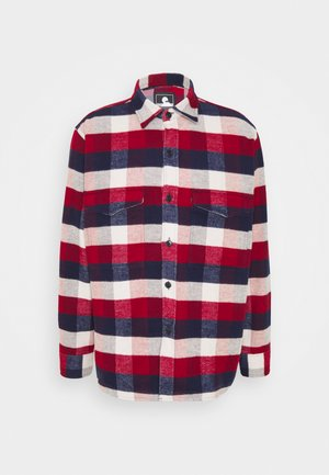 Shirt - bordeaux/navy