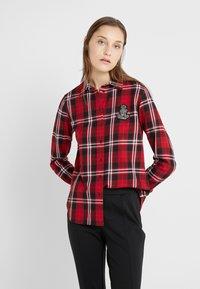 Lauren Ralph Lauren - CLASSIC CREST - Camisa - red/black - 0