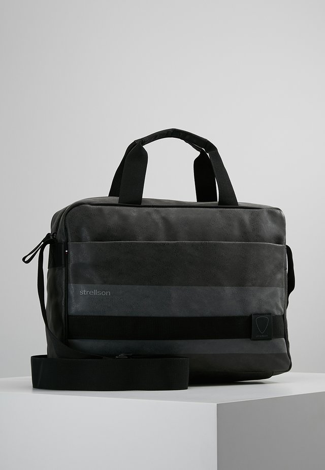 FINLEY - Briefcase - dark grey