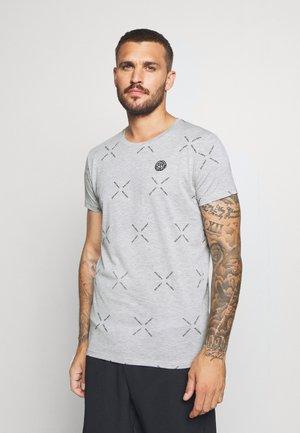ALEKO LIFESTYLE TEE - Print T-shirt - light grey