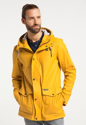 Waterproof jacket - curry