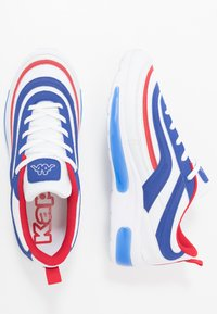 Kappa - SQUINCE  - Zapatillas de running neutras - white/blue - 1