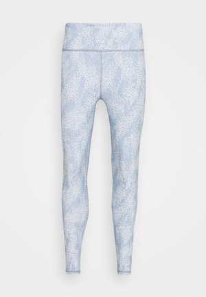REVERSIBLE 7/8 - Leggings - sea spray/baltic blu