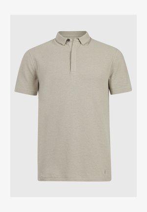 HEMP SS POLO - Polo shirt - beige