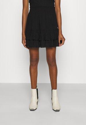 SAMIYA SKIRT - Mini skirt - black