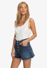 Roxy - LAGOS CLIFF - Denim shorts - dark indigo - 3