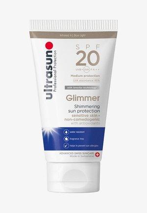 GLIMMER SPF20 TUBE - Zonnebrandcrème - -