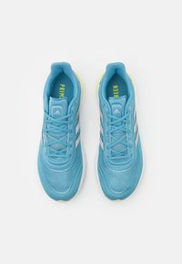 adidas Performance - SUPERNOVA - Neutral running shoes - haze blue/acid yellow - 3