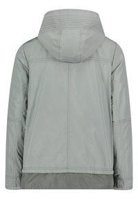 Amber & June - MIT KAPUZE - Waterproof jacket - quarry - 4
