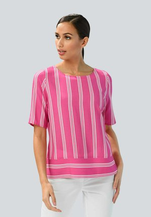 Blouse - pink weiss