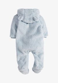 Next - BLUE COSY FLEECE BEAR PRAMSUIT (0MTHS-2YRS) - Pyjama - blue - 1
