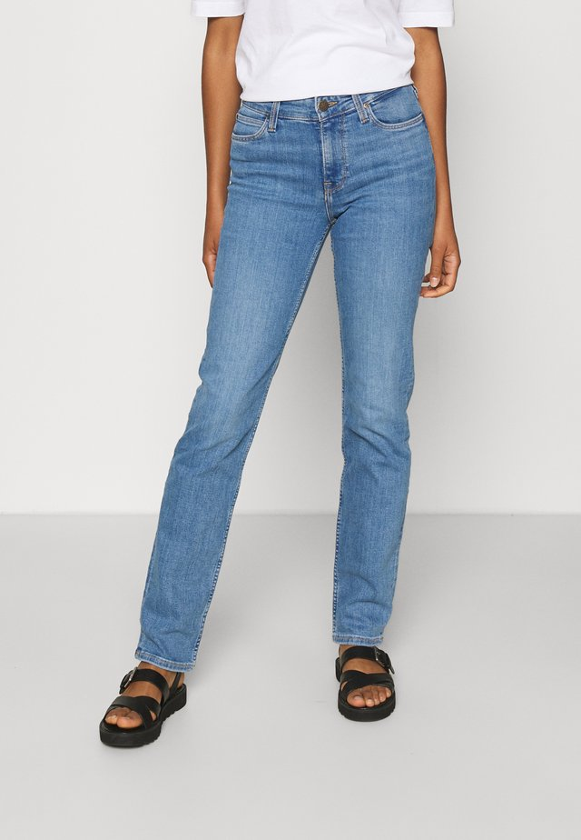 MARION STRAIGHT  - Slim fit jeans - mid lina
