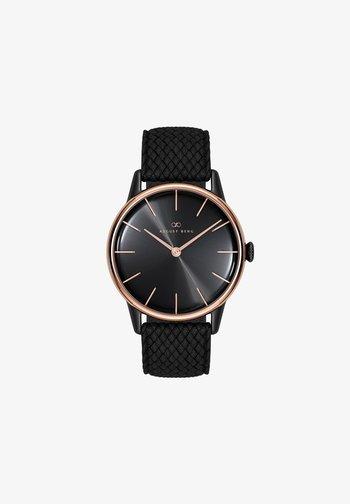 UHR SERENITY NOIR BLACK PERLON 32MM - Watch - sunray black